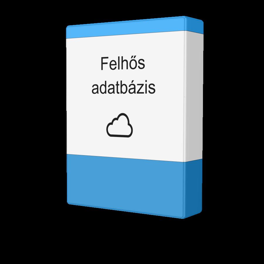 Felhős adatbázis